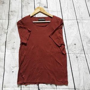 3/$30-- ZARA T-shirt size Large